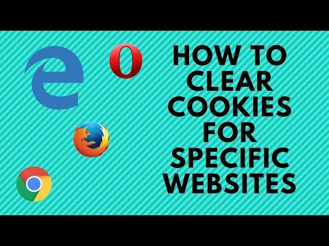 How to Clear Cookies for Specific Websites