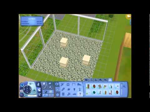 Sims 3 How to make a shark tank