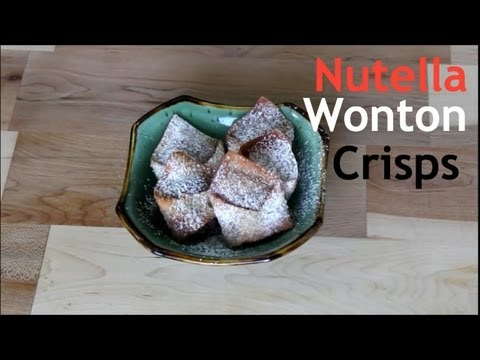 Nutella Series Wonton Crisps