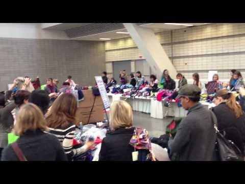 Boden Liquidation sale frenzy - like watching Pirhana Pittsburgh Pennsylvania 2012