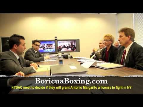 #CottoMargarito - NYSAC meet to decide if they'll grant Antonio Margarito a license to fight in NY