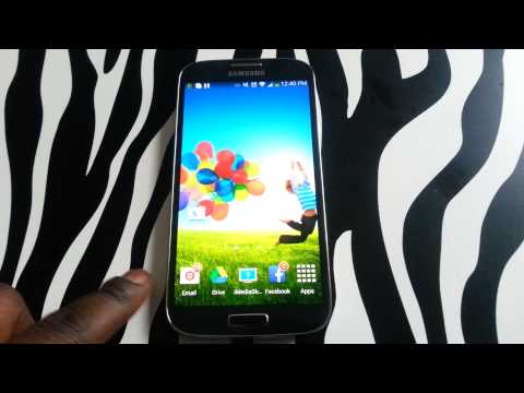 How to rearrange icons on Samsung Galaxy S4