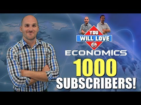 You Will Love Economics Hits 1000 Subscribers!