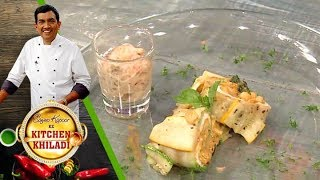 Sanjeev Kapoor Ke Kitchen Khiladi - Ep 4 - Zucchini Roulade And Pumpkin Loaf