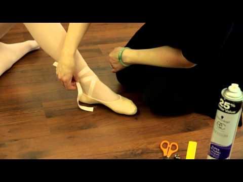 Premier School of Dance: How to tie ballet shoe ribbons