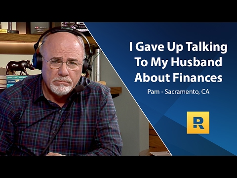I Gave Up Talking To My Husband About Finances