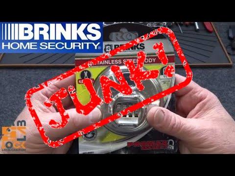 (999) Brinks Diskus Combo Combination Padlock (JUNK!)
