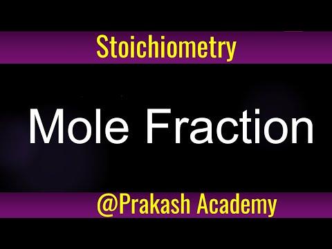 Basic Stoichiometry Mole Fraction   Sample Problem 1