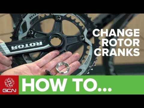 How To Change Rotor Cranks On Your Bicycle