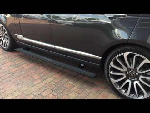 Turning Off / On Range Rover Running Boards / Deployable Side Steps