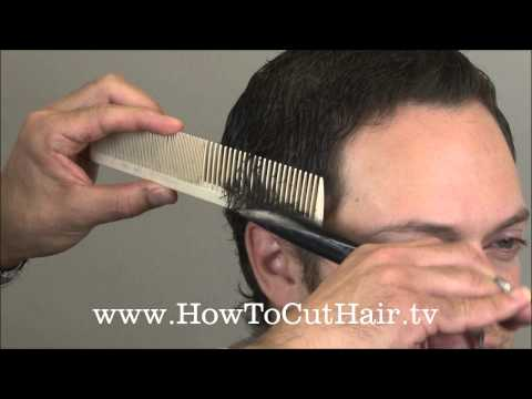 How To Cut Men's Hair - Scissor Over Comb Barbering Tecnnique