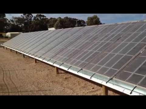 Solar Desalination Water Farm In Mildura