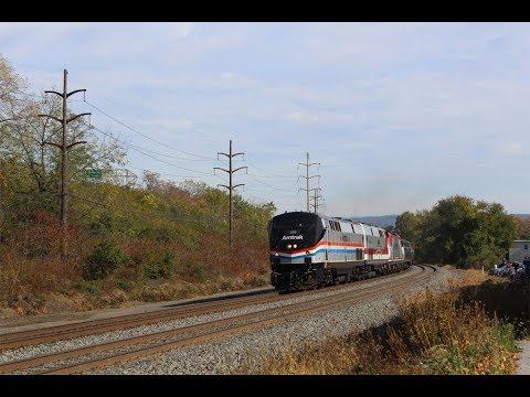 Harrisburg Line Railfanning - October 29th 2016