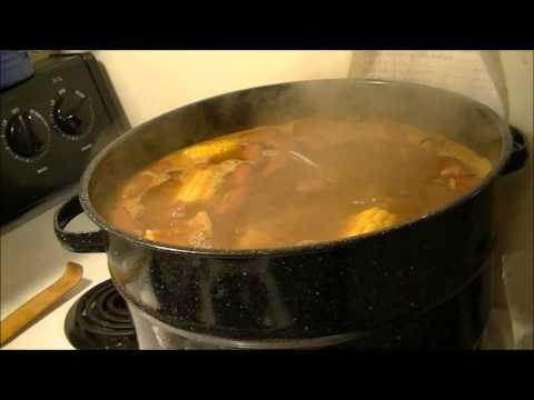 Recipe for Good Ole Cajun Crab Leg/Shrimp Boil!