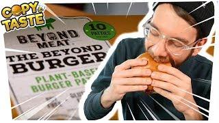 Download Test: BEYOND MEAT BURGER - die ″Hype-Fleisch-Alternative″? - feat. SPACEFROGS 🍔🚫🐮 Copy & Taste #CaT Video