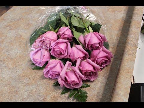 Houston Florist DIY- Wrapped Roses Bouquet