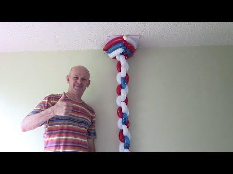 Balloon column. How to make balloon column