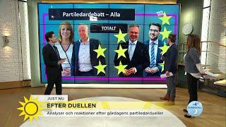 """Marcus: """"Därför vann Jimmie Åkesson debatten"""" - Nyhetsmorgon (TV4)"""