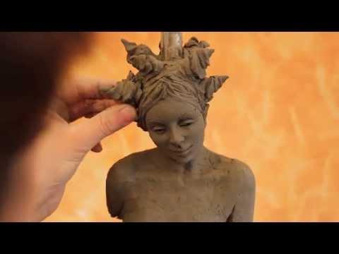 Tutorial: sculpting a female body in clay. www.sculpturered.com
