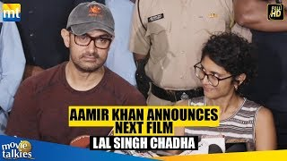 Aamir Khan CONFIRMS he is doing Lal Singh Chaddha, The Official Remake Of Tom Hanks