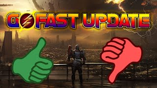 GO FAST UPDATE! RUMBLES BACK but... its broken?