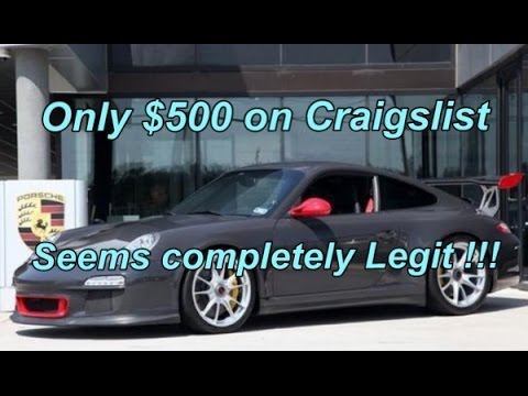 How To Sell Your Car On The Internet Using Facebook Ebay Or Craigslist