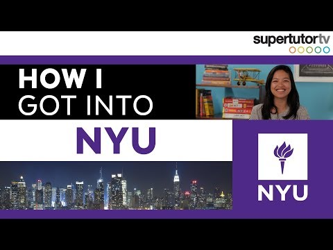 How I Got Into NYU: New York University, College Admission Tips!!
