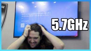 Extreme Overclock Attempt: 5.7GHz 7980XE, ft. KINGPIN & Roboclocker