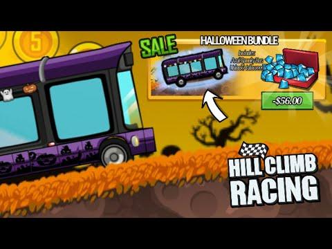 New Spooky Bus Vehicle Bundle - Hill Climb Racing 1.38.0