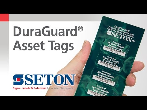 How to Make Asset Management Easier with DuraGuard® Asset Tags | Seton Video