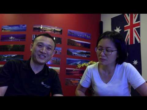 Ansellia and Francis - Migrating to Australia from Singapore Testimonial