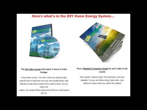 DIY Home Energy System - Do your Solar Panel System For Home By Yourself