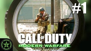Sniped and Stabbed - Call Of Duty 4: Modern Warfare Remastered - (CoD Week #1)   Let
