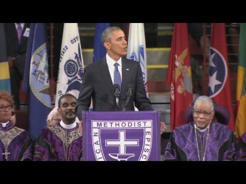 Moments From President Obama's Eulogy for Rev. Pinckney