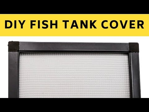 How to Make Fish Tank Cover At Home | DIY | The Indian Fishkeeper
