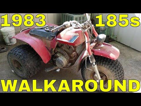 1983 Honda ATC 185s Walkaround
