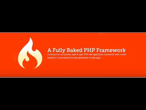 Creating Simple Web Site Using CodeIgniter-Part1