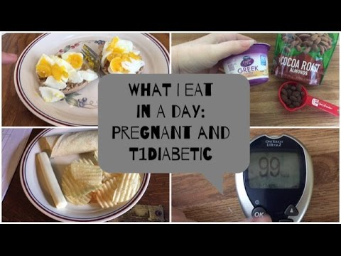 What I Eat In A Day⎮Pregnant and T1 Diabetic⎮Oh Plunkett