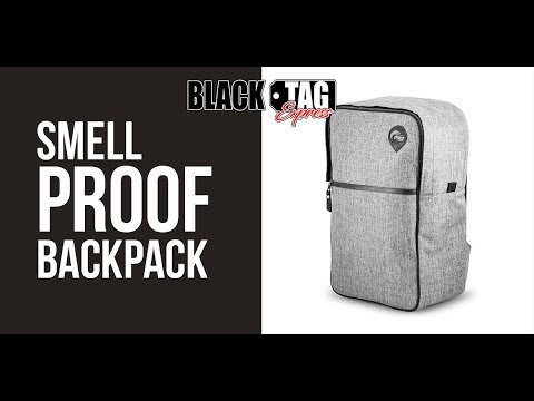 Smell Proof Backpack - Amazing!