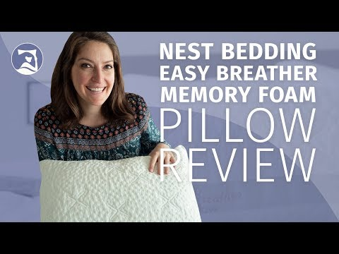 Nest Bedding Easy Breather Memory Foam Pillow Review (2018 Update!)