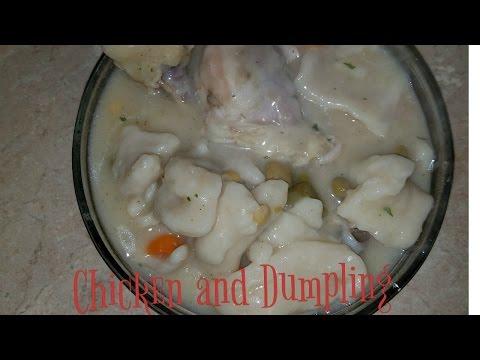Homemade Chicken and Dumpling