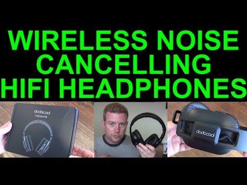 Dodocool Active Noise Cancelling Wireless Bluetooth Headphones AptX HiFi Review