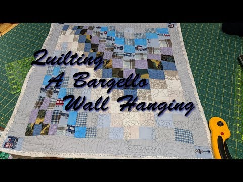 Quilting A Bargello Wall Hanging