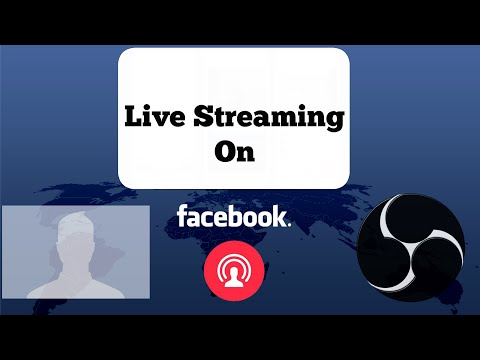 How To Go Live Facebook On Your Profile Open Broadcaster Software