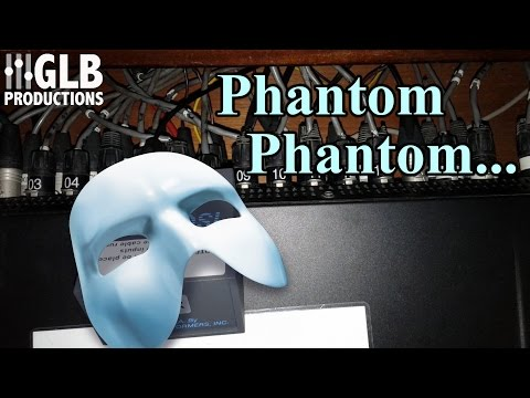 Phantom Phantom Power... #Live Sound Stories