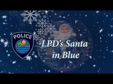 LPD Santa in Blue - December 2017