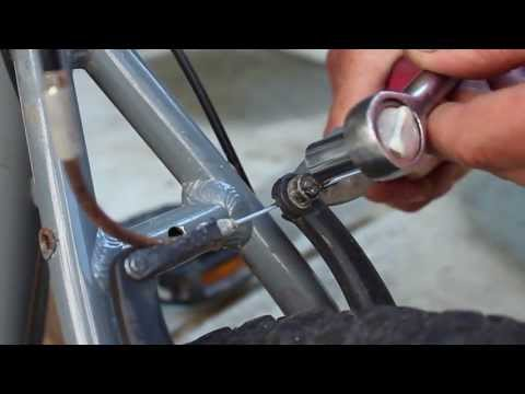 How to re-cable v-brakes