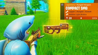 """NEW """"COMPACT SMG"""" GAMEPLAY in Fortnite! - NEW Fortnite COMPACT SMG GAMEPLAY (COMPACT SUBMACHINE GUN)"""