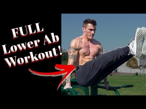 V Shred Lower Ab Workout for a Ripped Six Pack | 6 Lower Ab Exercises