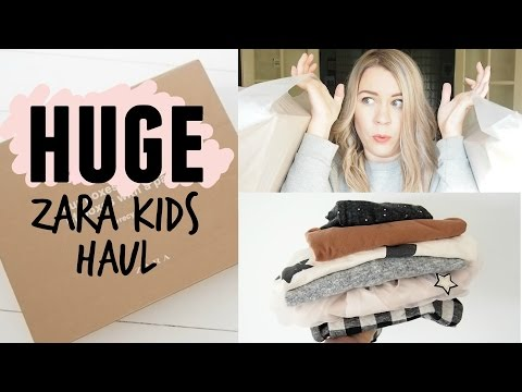 HUGE ZARA KIDS HAUL | Toddler boys, girls and boys clothes | Kate+